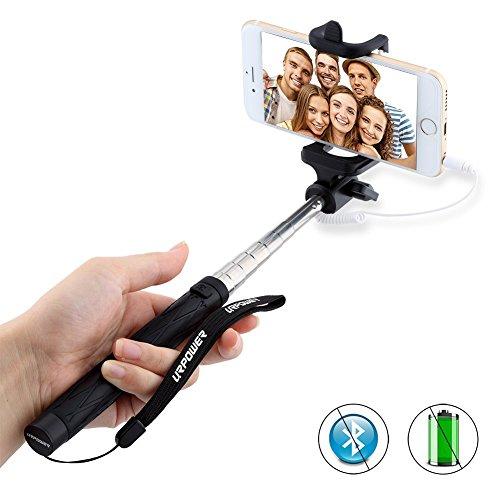selfie stick urpower extendable cable control self portrait monopod selfie s. Black Bedroom Furniture Sets. Home Design Ideas