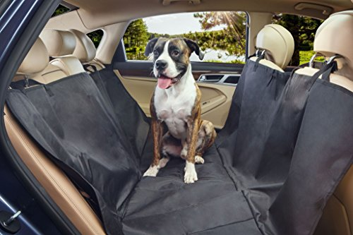 Sharkk Waterproof Dog Car Seat Cover Durable Non-Slip Pet Hammock Seat Cover - Protects Against Mud, Water, Dirt and Pet Hair (Truck Bed Cover 2014 F150 compare prices)