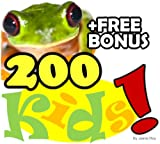 Mama Frog Has 200 Kids: A Kids Learn to Read Cute and Silly Animal Story Book with Large and Beautiful Photos (Free Bonus: 30+ Free Online Kids Jigsaw ... Children Books | Read Aloud Books for Kids)