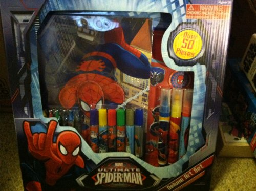 Ultimate Spider-man 50 Piece Deluxe Art Set