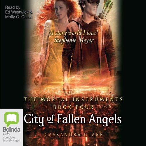 City of Fallen Angels Audiobook   Cassandra Clare ...