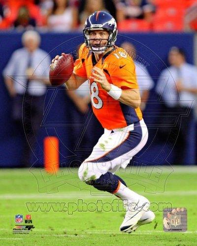 Peyton Manning Denver Broncos 2012 NFL Action Photo #2 8x10
