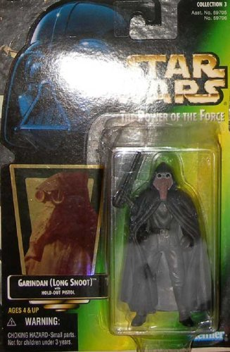 Star Wars POTF2 Power of the Force Garindan Long Snoot Hologram variant