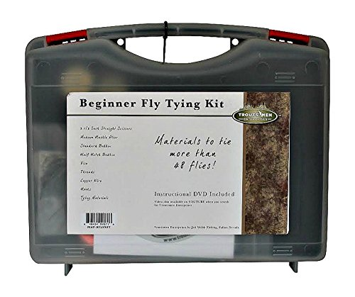Jed welsh fishing basic fly tying kit sporting goods for Fly fishing tying kit