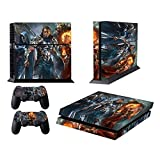 EBTY-Dreams Inc. - Sony Playstation 4 Original (PS4 Original) - Magic The Gathering MTG Planeswalker Chandra Jace Vinyl Skin Sticker Decal Protector