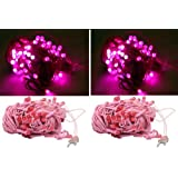 A To Z Traders - Pink Rice Light (Pack Of 5) And (FREE 1 HAND Shape LED Light KEY-CHAIN) For Festivals Diwali/...
