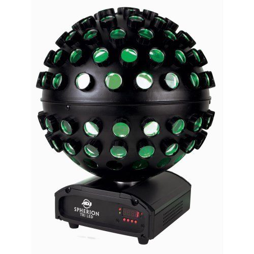 American Dj Supply Spherion Tri Led Tri Colored Led Powered Color Changing Centerpiece Effect
