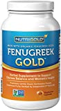 Organic Fenugreek GOLD - 750 mg, 120 Vegetarian Capsules (GMO-free, Preservative-free, Allergen-free Organic Fenugreek Seed Powder in Veg. Capsules for Breastfeeding)