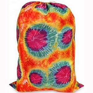 Tie-dyed Laundry Bag Orange