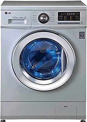 LG FH296HDL24 Fully-automatic Front-loading Washing Machine (7 Kg, Luxury Silver)