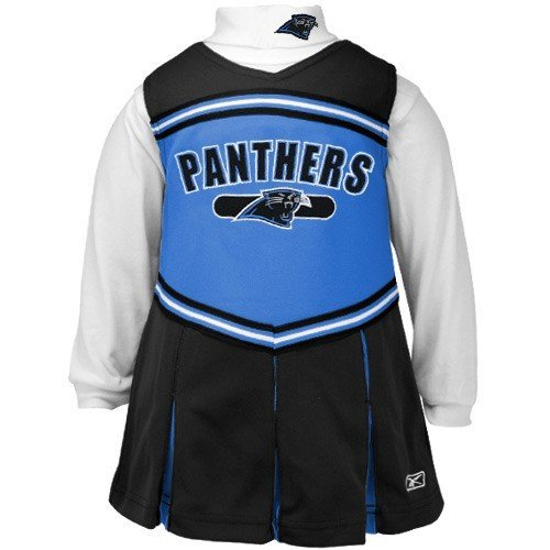 Carolina Panthers Reebok Infant Cheerleader Dress (24 Month) at Amazon.com