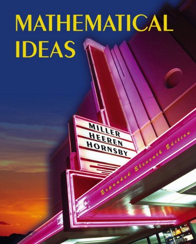 Mathematical Ideas Expanded Edition plus MyMathLab Student Access Kit (11th Edition)