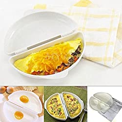 Microwave Omelet Mold Poach Cooking Perfect Pan Maker Egg Poacher Kitchen Tool