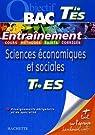 Sciences �conomiques et sociales Tle ES : Enseignements obligatoire et de sp�cialit� par Lebel