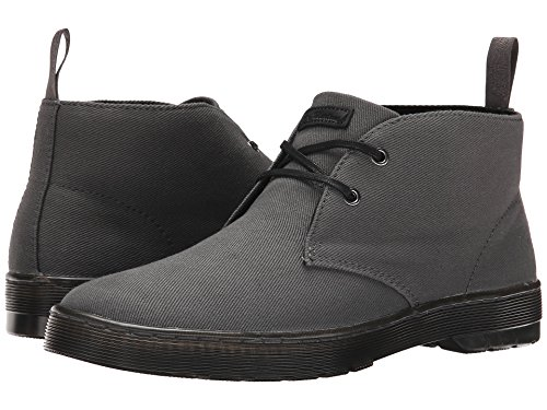 [ドクターマーチン] Dr. Martens メンズ Mayport 2-Eye Desert Boot アンクルブーツ Lead Overdyed Twill Canvas UK 8 (US Mens 9 US Womens 10)(27cm) - M [並行輸入品]
