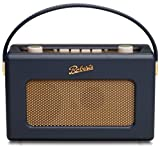 Roberts RD60 Revival DAB/FM RDS Digital Radio with Up to 120 Hours Battery Life - Blue