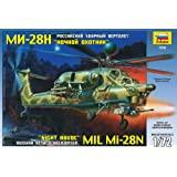 1 72 Mil MI-28N Russian Attack Helicopter Havoc Model Kit armored military flying army... by Zvezda
