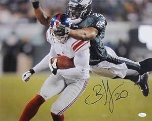 Brian Dawkins Philadelphia Eagles Signed Autographed 16x20 Dive Photo JSA by Sports Integrity
