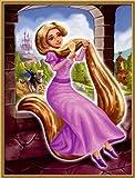 Schipper 609150622 - Malen nach Zahlen - Rapunzel, 18x24 cm