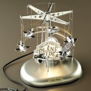 Airplane Ride Motion Sculpture Lamp