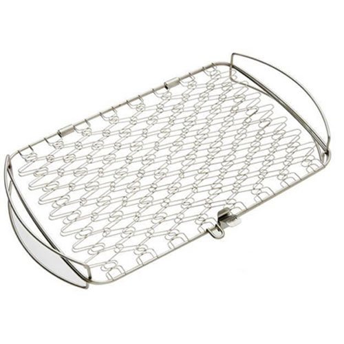 Weber 6471 Original Stainless Steel Fish Basket, Large (Fish Rack For Grilling compare prices)