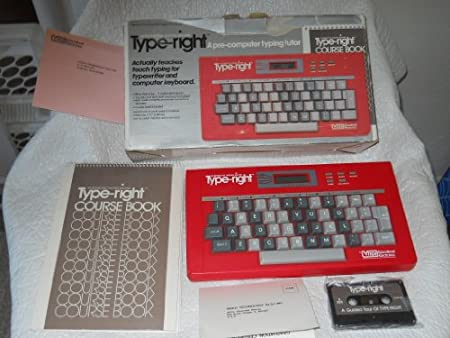 Type-right a Pre-computer Typing Tutor 80-0830