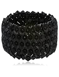 Curio Cottage Strand Bracelet For Women (Matte Black) (CC-BR-0054)