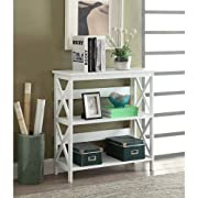 Convenience Concepts Oxford 3-Tier Bookcase, White