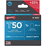 ARROW STAPLES T50 BOX 1250 3/8IN