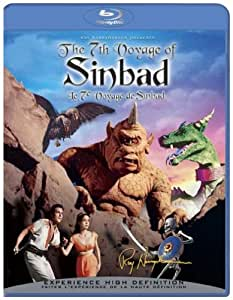 The 7th Voyage of Sinbad: 50th Anniversay Edition [Blu ray] [Blu-ray] (Bilingual)