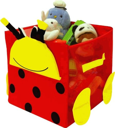"Kid Style Critter Cube, Lady Bug, 12"" X 12"" X 12"" back-337814"