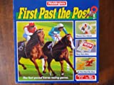 FIRST PAST THE POST. VINTAGE WADDINGTONS FAMILY HORSE RACING BOARD GAME AGE 8+ 1989