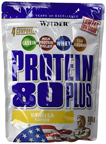 Weider Protein 80 Plus, Vanille, 500g Beutel