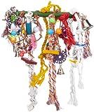 Nobby 31405 Dschungel-Toy für Papageien und Großsittiche mit Sisal L x B: 60 x 18 cm, bunt