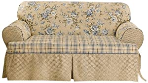 Amazon Com Sure Fit Lexington T Cushion Sofa Slipcover