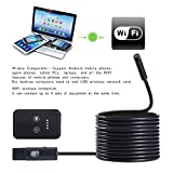 Endoscope,LESHP Mirco USB Endoscope Lens Mirror Waterproof Endoscope Borescope Snake Inspection Video Camera with 6 LED and 2M Cable