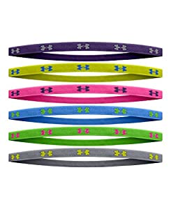 Under Armour Big Girls' UA Mini Headbands One Size Fits All CHAOS