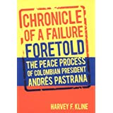 Chronicle of a Failure Foretold: The Peace Process of Colombian President Andres Pastrana
