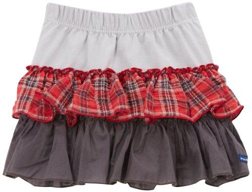 Miniman Girl's 2C27034 Skirt, Grey (gris Clair), 12 Years (Manufacturer size: 12 ans)