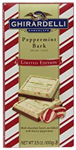 Ghirardelli Peppermint Bark Bar,-3.5 oz., 4 Count