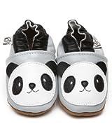 Chaussons Bébé en cuir doux Panda 18/24 mois