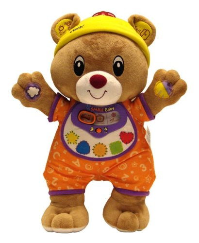 Vtech - V.Smile Baby - Bailey Goes To Town (Includes Bailey Plush Bear Controller) front-1073655