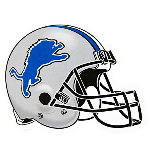 Detroit Lions - Helmet Indoor/outdoor Magnet (Lion Outdoor Refrigerator compare prices)