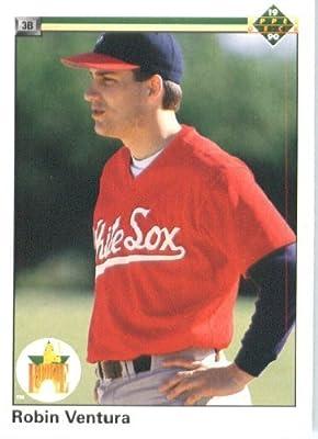 1990 Upper Deck # 21 Robin Ventura Chicago White Sox - MLB Baseball Trading Card