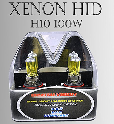 H10 9140 9145 Fog Light Xenon HID Yellow Direct Replacement Light Bulbs