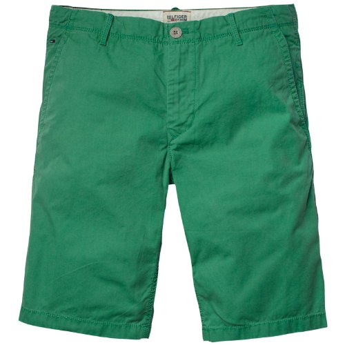 Tommy Hilfiger Sasha Ft Men's Shorts Pine Green W38 IN