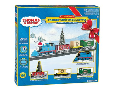 Bachmann Industries Thomas` Christmas Express Ready To Run Electric Train Set