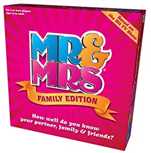 Mr & Mrs Family Edition Box Game by Mr & Mrs