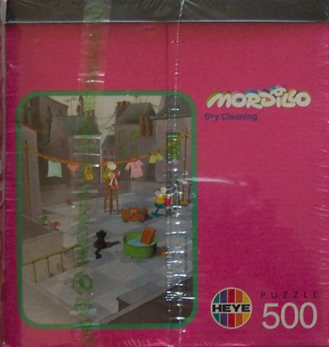 Heye Mordillo; Dry Cleaning; 500 Piece Puzzle