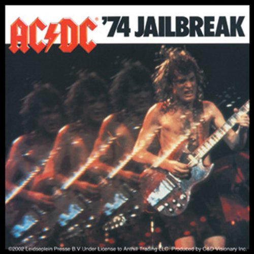 Licenses Products AC/DC Jail Break Sticker